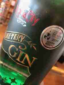 Cemetery Gin bottle